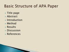 How to Reference Journal Articles in APA Format
